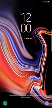 Samsung Galaxy Note9 - Gerät - Einen Soft-Reset durchführen - Schritt 5