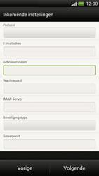 HTC Z520e One S - E-mail - Handmatig instellen - Stap 9