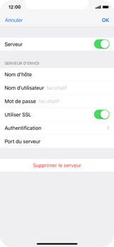 Apple iPhone XS - E-mail - configuration manuelle - Étape 18