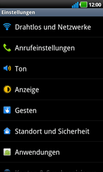 LG P970 Optimus Black - Ausland - Auslandskosten vermeiden - Schritt 6