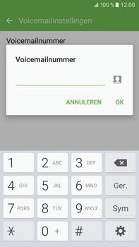 Samsung Galaxy J7 (2016) (J710) - voicemail - handmatig instellen - stap 9