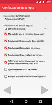 Motorola Moto G6 - E-mails - Ajouter ou modifier votre compte Outlook - Étape 9