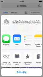 Apple iPhone 5s - iOS 11 - Internet et roaming de données - Navigation sur Internet - Étape 17