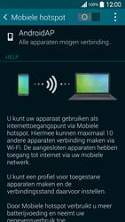 Samsung G900F Galaxy S5 - WiFi - Mobiele hotspot instellen - Stap 10