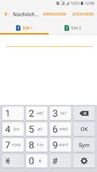 Samsung Galaxy J5 (2016) DualSim - SMS - Manuelle Konfiguration - 9 / 12