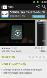 Samsung Galaxy S Advance - Apps - Installieren von Apps - Schritt 7