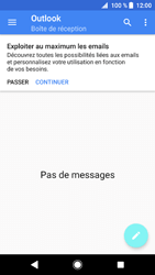 Sony Xperia XZ1 - E-mail - 032c. Email wizard - Outlook - Étape 5