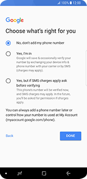 Samsung Galaxy S9 - Applications - Setting up the application store - Step 17