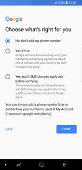 Samsung Galaxy S9 - Applications - Create an account - Step 17