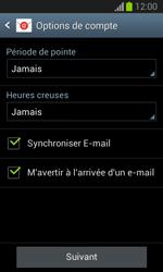 Samsung Galaxy Trend Lite - E-mail - configuration manuelle - Étape 17