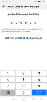 Huawei P30 - Sécurité - activéz le code PIN de l'appareil - Étape 6