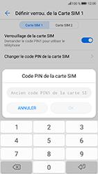 Honor 9 - Sécuriser votre mobile - Personnaliser le code PIN de votre carte SIM - Étape 7