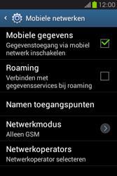 Samsung S6810P Galaxy Fame - internet - data uitzetten - stap 6