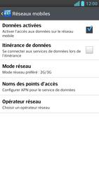 LG Optimus F5 - Internet et connexion - Activer la 4G - Étape 6