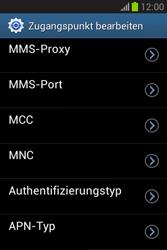 Samsung Galaxy Fame Lite - Internet und Datenroaming - Manuelle Konfiguration - Schritt 12