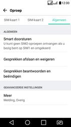 LG K4 2017 - voicemail - handmatig instellen - stap 5