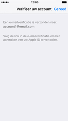 Apple iPhone SE (iOS 9) - apps - account instellen - stap 24
