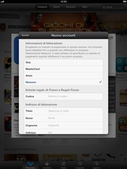 Apple iPad mini - Applicazioni - Configurazione del negozio applicazioni - Fase 19