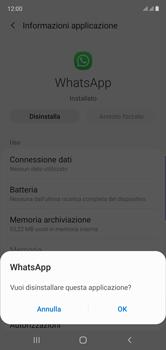 Samsung Galaxy Note 10 - Applicazioni - Come disinstallare un