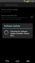 LG D955 G Flex - Software - Installing software updates - Step 12