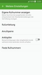 Samsung Galaxy J5 - Anrufe - Rufumleitungen setzen und löschen - 0 / 0