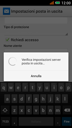 Alcatel One Touch Idol Mini - E-mail - configurazione manuale - Fase 21