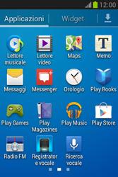 Samsung Galaxy Fame Lite - Applicazioni - Configurazione del negozio applicazioni - Fase 3