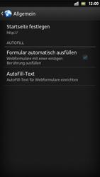 Sony Xperia S - Internet und Datenroaming - Manuelle Konfiguration - Schritt 21