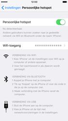Apple iPhone 6s iOS 10 - WiFi - WiFi hotspot instellen - Stap 11