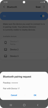 Samsung Galaxy S20 Plus 5G - Bluetooth - Connecting devices - Step 8
