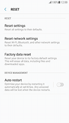 Samsung Galaxy S7 - Android N - Mobile phone - Resetting to factory settings - Step 6