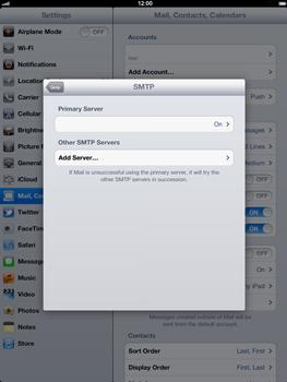 Apple The New iPad - E-mail - Manual configuration - Step 18