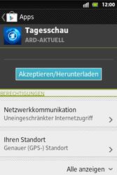 Sony Xperia Go - Apps - Herunterladen - Schritt 8