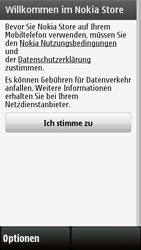Nokia 5230 - Apps - Konto anlegen und einrichten - 8 / 15