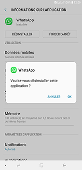 Samsung Galaxy J6 Plus - Applications - Supprimer une application - Étape 7