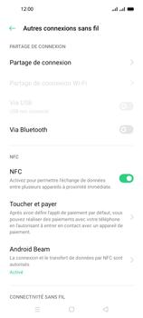 Oppo A53s - Internet et connexion - Partager votre connexion en Wi-Fi - Étape 5