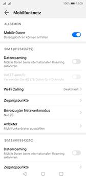 Huawei P20 - Android Pie - Netzwerk - Netzwerkeinstellungen ändern - Schritt 7