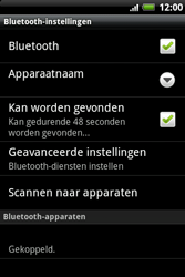 HTC A510e Wildfire S - Bluetooth - headset, carkit verbinding - Stap 9