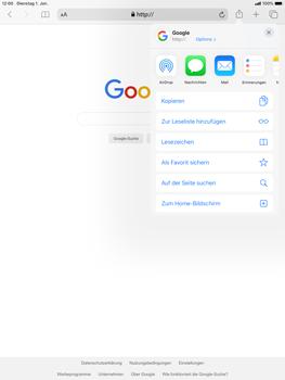 Apple iPad Air (2019) - iPadOS 13 - Internet und Datenroaming - Verwenden des Internets - Schritt 17