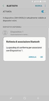 Samsung Galaxy S8 Plus - Bluetooth - Collegamento dei dispositivi - Fase 8