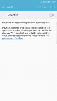 Samsung Samsung Galaxy S6 Edge+ - Android M - Wifi - configuration manuelle - Étape 4