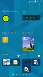 Samsung G850F Galaxy Alpha - Startanleitung - Installieren von Widgets und Apps auf der Startseite - Schritt 5