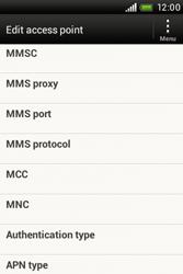 HTC A320e Desire C - MMS - Manual configuration - Step 11