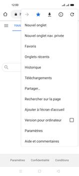 Oppo A53s - Internet et connexion - Naviguer sur internet - Étape 21