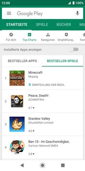 Sony Xperia XZ2 - Android Pie - Apps - Herunterladen - Schritt 11