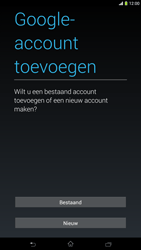 Sony C6833 Xperia Z Ultra LTE - apps - account instellen - stap 4