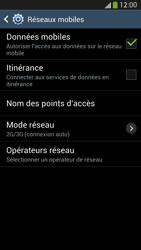 Samsung I9505 Galaxy S IV LTE - Internet - Désactiver du roaming de données - Étape 7