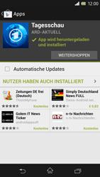 Sony Xperia Z - Apps - Herunterladen - Schritt 9