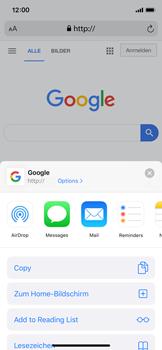 Apple iPhone X - iOS 13 - Internet und Datenroaming - Verwenden des Internets - Schritt 17