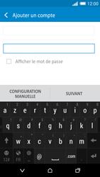 HTC Desire 820 - E-mails - Ajouter ou modifier un compte e-mail - Étape 7